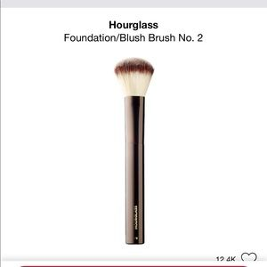 Hourglass brush no. 2